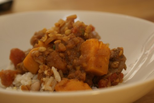 with sweet photo sweet potato lentil curry 3 a few years ago i went to ...
