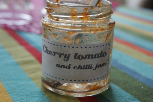 Cherry tomato and chilli jam