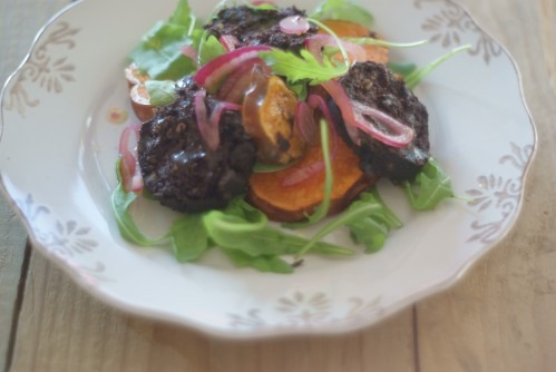 black_pudding_salad