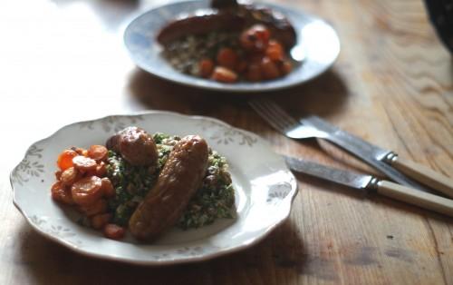 lentils_sausages